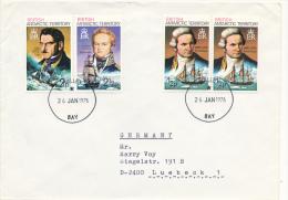 HALLEY  -  1976 , Cook , Biscoe , Dumont D´Urville - Britisches Antarktis-Territorium  (BAT)
