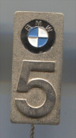 BMW , Car, Automobile, Vintage Pin Badge - BMW