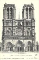 FRANCE. OLD POSTCARD. PARIS. NOTRE DAME CATHEDRAL - Notre Dame De Paris