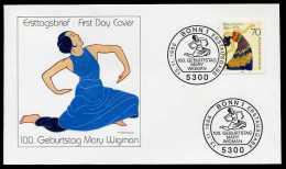 33558) BRD - Michel 1301 - FDC - Mary Wigman - FDC: Sobres