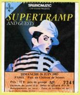 SUPERTRAMP - Concert historique au Parc de Sceaux 26/06/1983