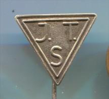 JTS - Netherlands, vintage pin, badge
