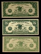 3 Billets De Jeu ARKIN 1 , 5 , 10 Dollars (Play Money) ( N° 419 - 2 ) - Non Classés