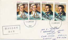 BAT - HALLEY - 1979 , Cook , Biscoe - Britisches Antarktis-Territorium  (BAT)