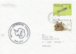 BAT - HALLEY - 1990 - Britisches Antarktis-Territorium  (BAT)