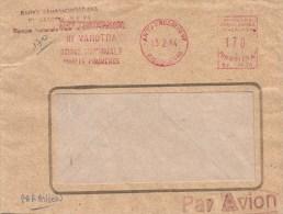 "Madagascar 1984 Antanarivo Bank Meter Franking Satas ""J"" SJ 9626 EMA Cover - Madagaskar (1960-...)"