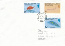 BAT -  SIGNY - 1989 , Meerestiere - Britisches Antarktis-Territorium  (BAT)