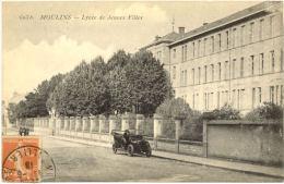 03/ CPA A - Moulins - Lycée De Jeunes Filles - Moulins