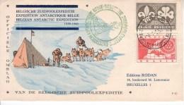 FDC 952 - 1022 Antarctique - 1951-60