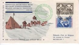 FDC 1063 - 1022 Antarctique - 1951-60