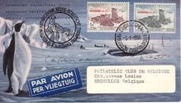 FDC 1030 - 1031 Antarctique - 1951-60