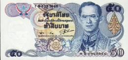 Thailand, 50 Baht, Pick 90 B, Sign. 56, UNC, 1985, Replacement ! - Thailand