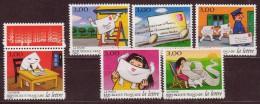 FRANCE - 1997 - YT N° 3060 / 3065 -** - Serie La Lettre - Série Complète - TBE - France
