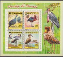 Burundi Waders-Echassiers-Steltlo Pers 2014 - Sheet Collective MNH - 2010-..: Nuovi