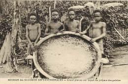 - Ref D383 -salomon - Mission Des Salomon Septentrionales - Grand Plateau Sur Lequel On Prepare Des Galettes - - Salomon