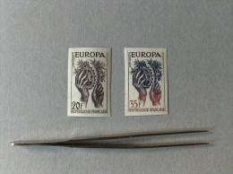 EUROPA CEPT 1957 FRANCIA  FRANCE NON DENTELLATO PROVA COLORE  ND NUOVO MNH - Europa-CEPT