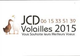 Calendrier De Poche 2015 JCD Volailles - Calendriers