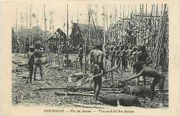 - Ref D378 - Papouasie Nouvelle Guinee - Fin De Danse - The End Of The Dance -  Carte Bon Etat - - Papua New Guinea