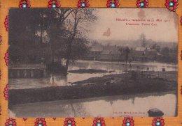1 Cpa Bruay Inondation 1910  L Ancienne Ferme Cail - Non Classificati