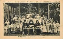 - Ref D376 - Tahiti - Marquises - Atuona - Preventorium -  Congregation Saint Joseph De Cluny - 21 Rue Mechain - Paris - - Tahiti