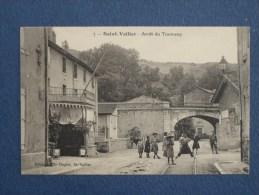 CPA-26-SAINT VALLIER-Arrêt Du Tramway-Animée - Sonstige Gemeinden