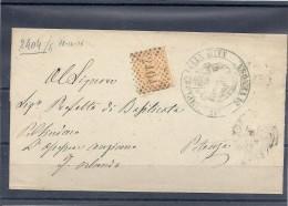 140018694  LOMBARDO-VENETTO    YVERT  Nº  17  CARTA - 1861-78 Victor Emmanuel II