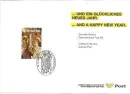 Timbre De Noel 2014 Avec Oblitération Christkindl - 1945-.... 2. Republik