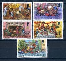 Guernsey 1982 / Christmas MNH Nöel Navidad Weihnachten / Ix27   30-8 - Navidad