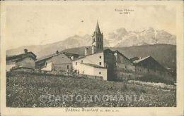 Torino Oulx Chateau Beaulard Punta Clotesse Cartolina ZC6050 - Unclassified