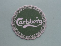 CARLSBERG ( Sous Bock / Coaster / Onderlegger ) Zie Foto´s Voor Detail ! - Beer Mats
