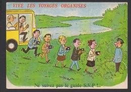 DF / HUMOUR / SÉRIE VIVE LES VOYAGES ORGANISÉS - 890 / NE SUIVEZ PAS LE GUIDE SVP !... - Humor