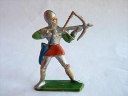 Figurine MARQUE INCONNUE 60's Pas Starlux Clairet Jim Cyrnos MOYEN AGE ARCHER - Starlux