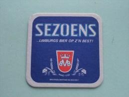 SEZOENS Limburgs Bier Op Z'n Best Martens Bocholt ( Sous Bock / Coaster / Onderlegger ) Zie Foto´s Voor Detail ! - Beer Mats
