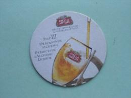STELLA ARTOIS Het 9 Stappen Ritueel Step III ( Sous Bock / Coaster / Onderlegger ) Zie Foto´s Voor Detail ! - Beer Mats