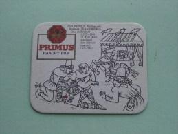 PRIMUS Haacht Pils Het Fatale Steekspel ( Sous Bock / Coaster / Onderlegger ) Zie Foto´s Voor Detail ! - Beer Mats