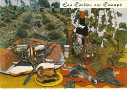 3567.   Les Cailles Sur Canapé - Recette 118 - Cliché Appollot - Grasse - Recettes (cuisine)
