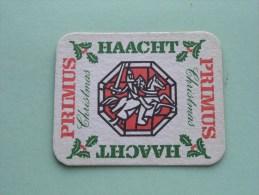 PRIMUS Haacht Christmas ( Sous Bock / Coaster / Onderlegger ) Zie Foto´s Voor Detail ! - Beer Mats