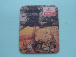 WIEL's Wielemans De Oogst ( Sous Bock / Coaster / Onderlegger ) Zie Foto´s Voor Detail ! - Beer Mats