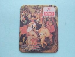 WIEL´s Wielemans Bruiloftsdans In Openlucht ( Sous Bock / Coaster / Onderlegger ) Zie Foto´s Voor Detail ! - Beer Mats