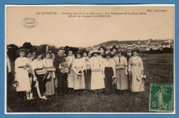 71 - La CLAYETTE --  Aviation Des 28 Et 29 Juin 1914 - Les Vendeuses De La Fleur Bleue.... - France
