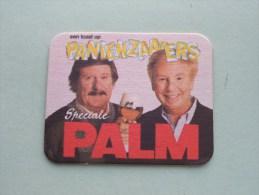 Een Toast Op PANIEKZAAIERS Speciale PALM ( Sous Bock / Coaster / Onderlegger ) Zie Foto´s Voor Detail ! - Beer Mats