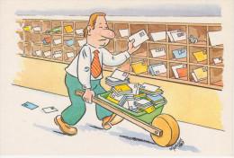POSTE E TELECOMUNICAZIONI   RIPARTIZIONE  DELLA  CORRISPONDENZA   UMORISTICA   (NUOVA) - Postal Services