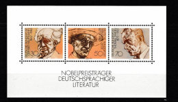 Bloc D´ All Fédérale Neuf N° 15 Lauréat Du Prix Nobel De 1978 Bon état Gomme Intact - Timbres