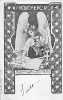 ITALIE  - Vittorio EMMANUEL -  XI Novembre MCM  ( Carte Illustrée Par  Varian ) Art Nouveau - Non Classés