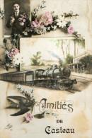 SOIGNIES CASTEAU (Belgique) Fantaisie Amitiés - Soignies