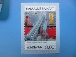 3-022 Groenland Greenland arctique arctic pole nord inuit eskimo autocollant minning gold mine or