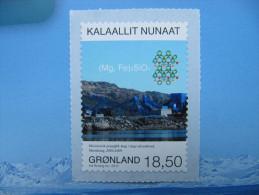 3-021 Groenland Greenland arctique arctic pole nord inuit eskimo autocollant minning  mine olivine Mg Fe fer molecule
