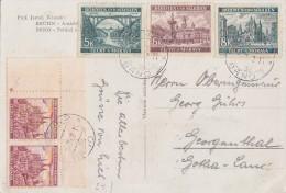 B&M AK Mif Minr.2x 30 UER Stern, 2x 56 UER Stern,57,58,59 Brünn - Briefe U. Dokumente
