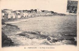 ¤¤   -    32   -  PREFAILLES   -  La Plage Et Les Cabines     -  ¤¤ - Préfailles
