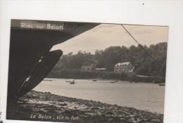 Carte Photo - RIEC SUR BELON - Le Belon - Vue Du Port - France